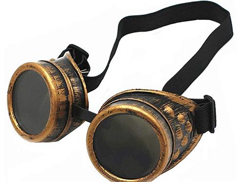 Steampunk Goggles - Gold Color