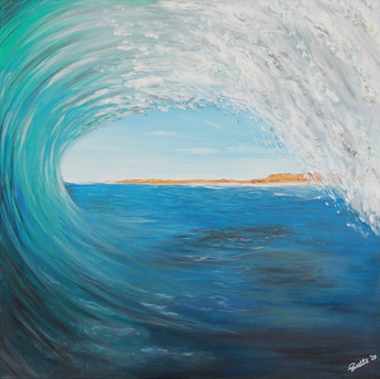 SUZETTE BARROWS - ON THE CREST OF A WAVE