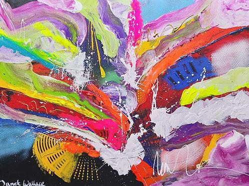 Energy dancing in dreams - JANET WALLACE