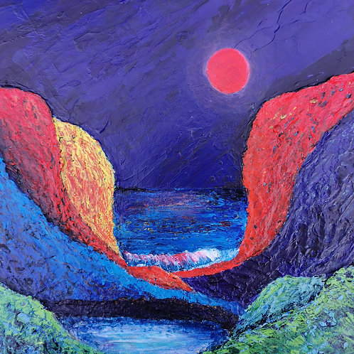 Blood Moon - Lorraine Wiseman