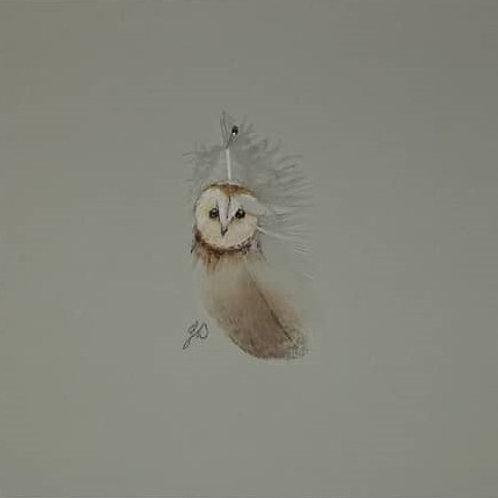 Barn Owl (Tiny) - Julie Cunningham