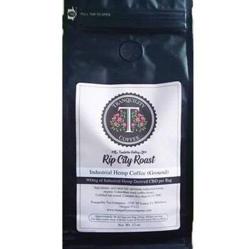 Tranquility Tea Company - CBD Coffee - Rip City Roast - 900mg