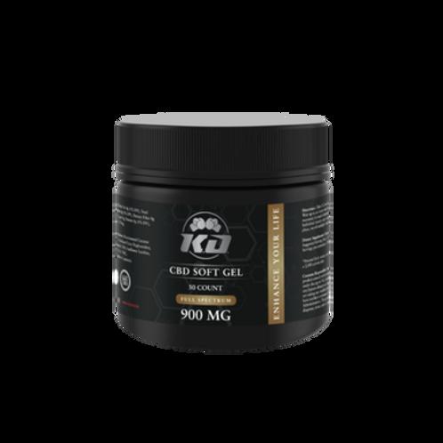 Knockout CBD - CBD Soft Gel - Capsule - 30mg