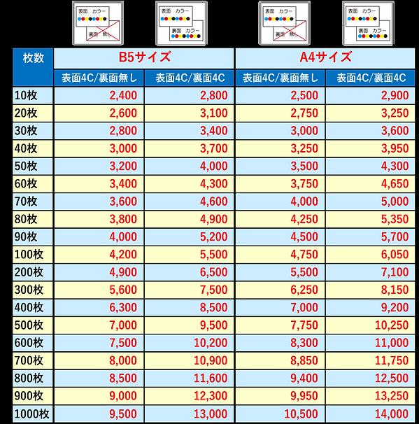 チラシ価格表_B5A4.png