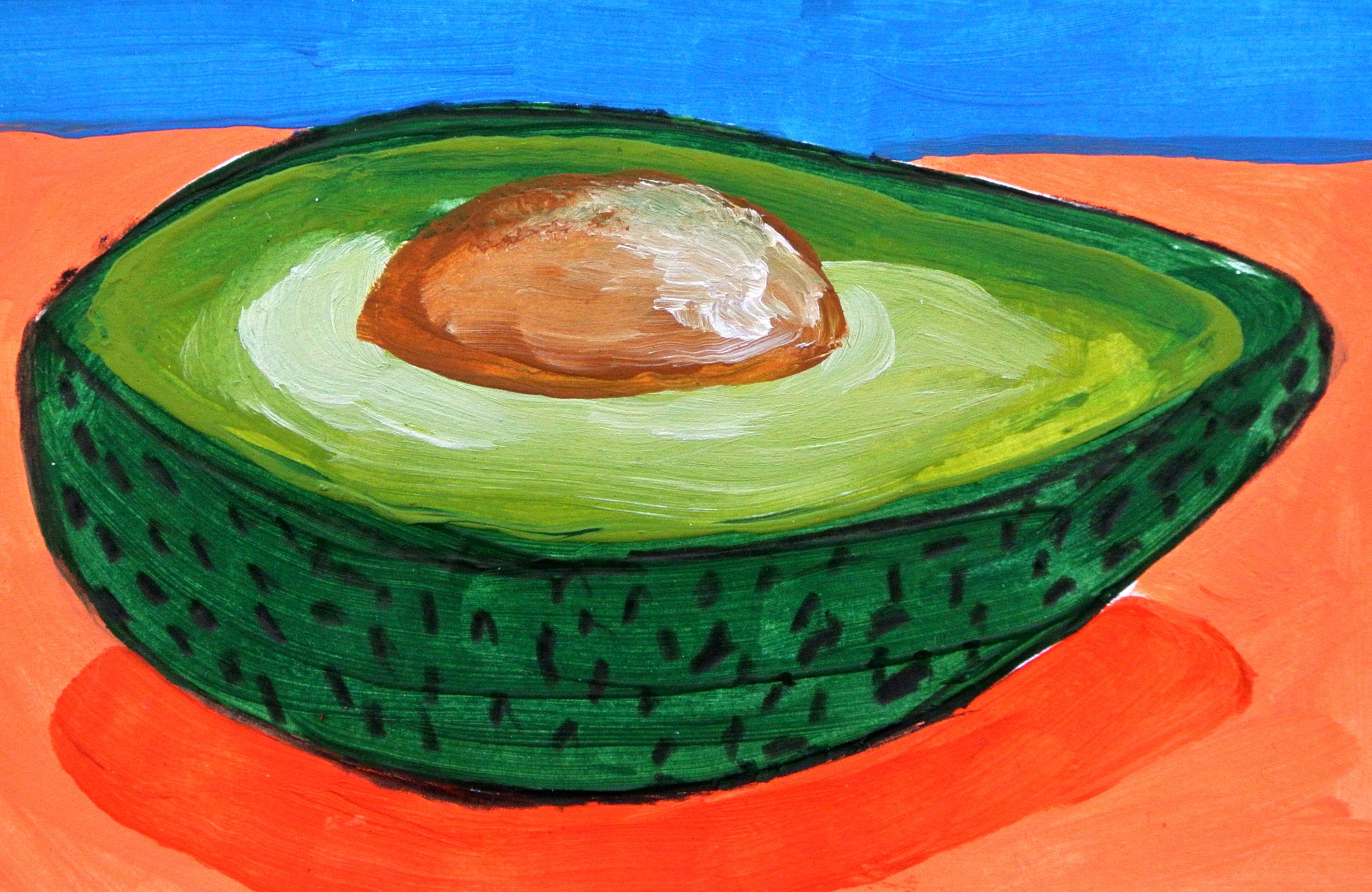 Avocado 9 x 14 cm