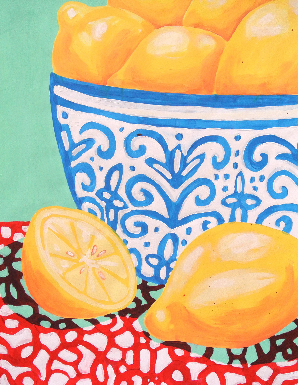 Lemons 50 x 64.5 cm