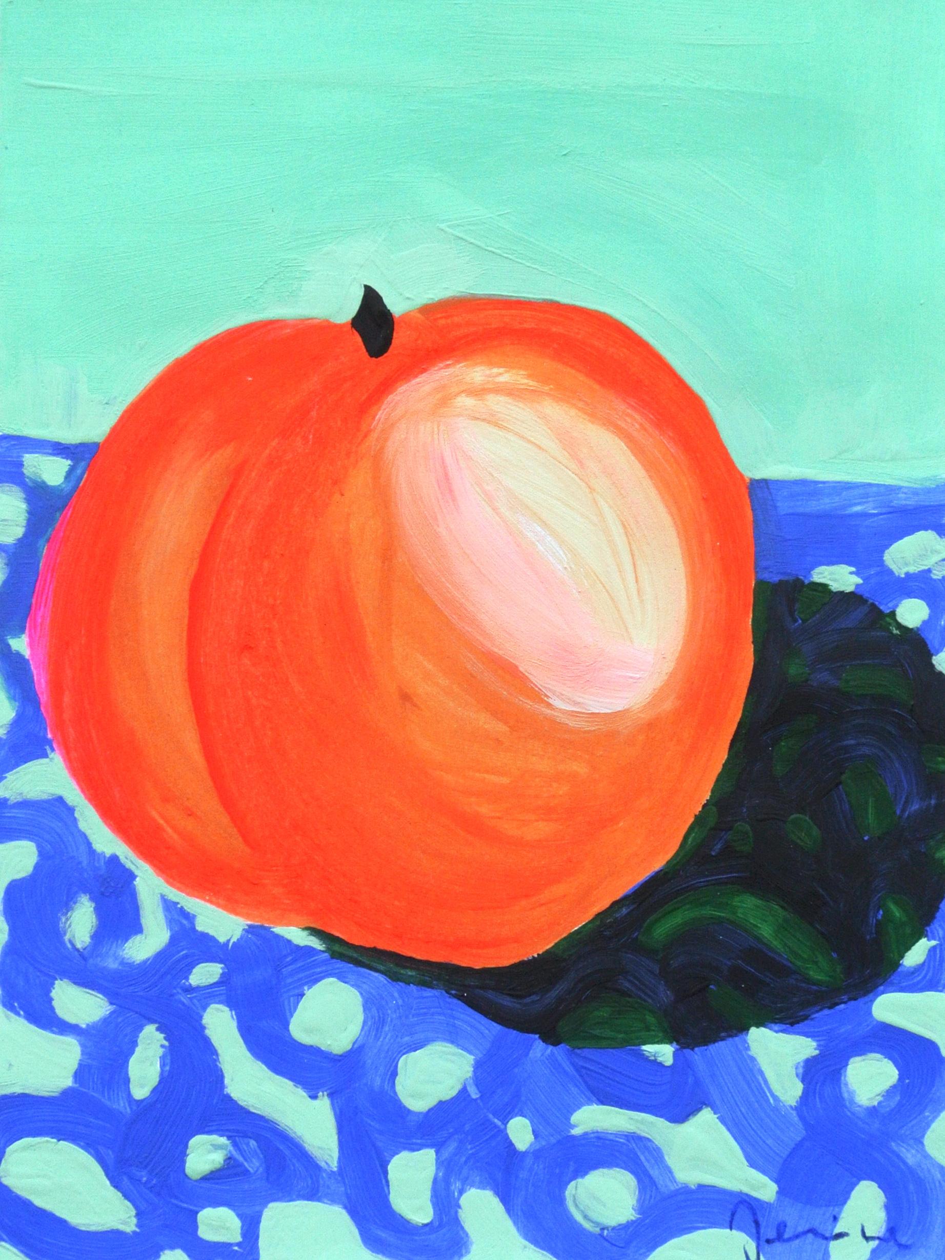 Peach 16 x 21 cm