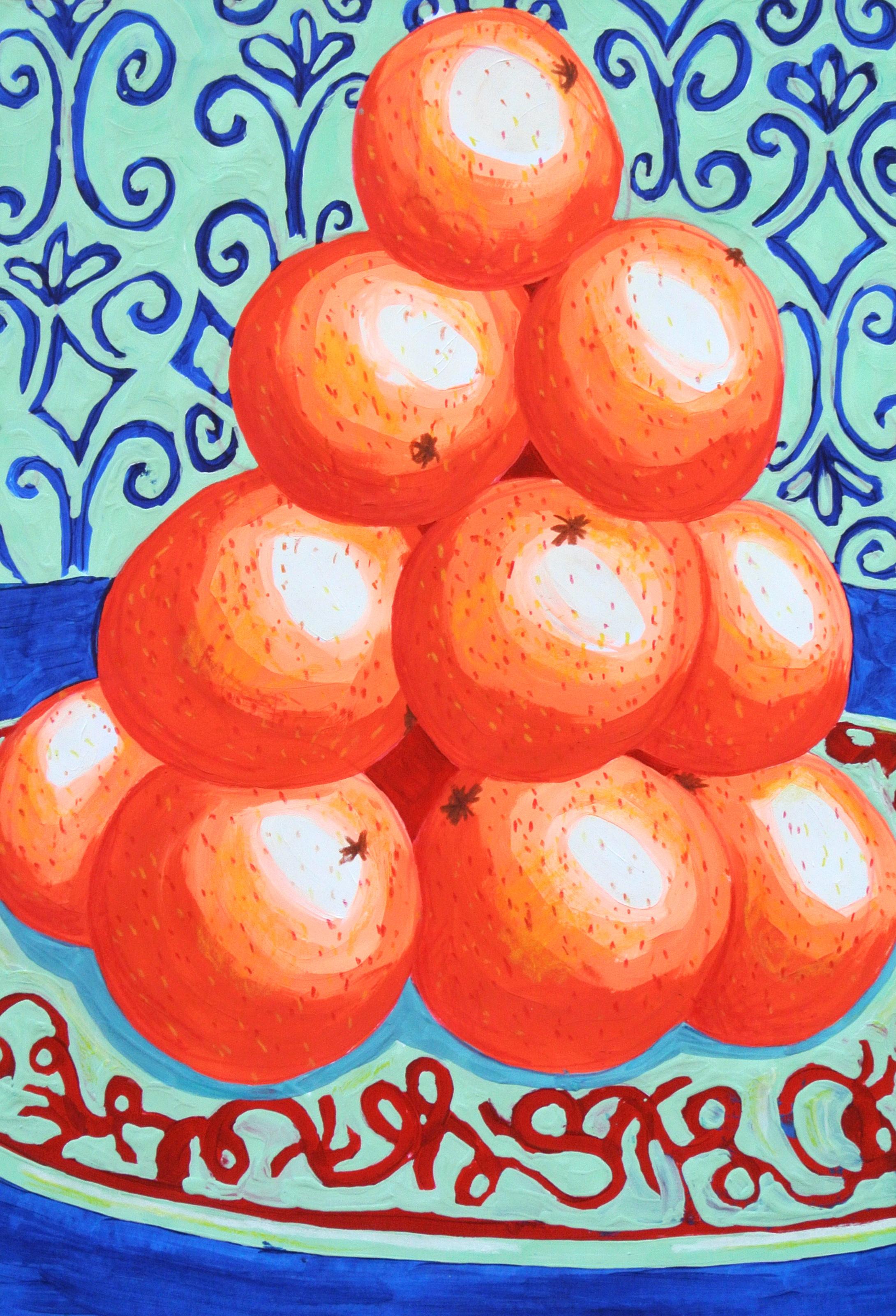 The Oranges 50 x 64.5 cm