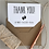 Thumbnail: New Baby Thank You Cards - White