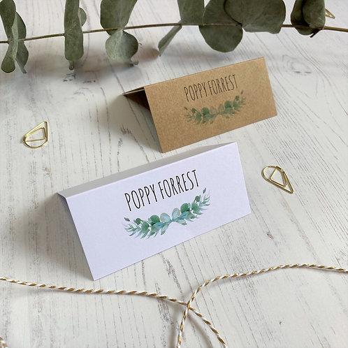 Eucalyptus Place Name Cards