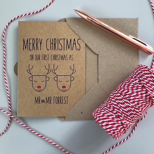 First Christmas as Mr and Mr - Kraft
