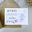 Thumbnail: Lavender We've Moved House / New Address Cards - White