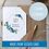 Thumbnail: Bridesmaid Proposal Card - Blue Flower Seeded