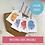 Thumbnail: Watercolour Splash Gift Tags