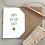 Thumbnail: Happy Bee-Day Birthday Card - White