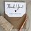 Thumbnail: New Baby Thank You Cards - Kraft