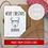 Thumbnail: Personalised Christmas Card Reindeer - Seeded Card