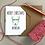 Thumbnail: Personalised Christmas Card Reindeer - White Card