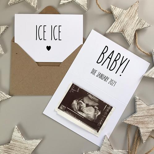 ICE ICE BABY - WHITE