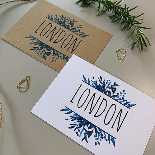 Blue Foliage Table Name