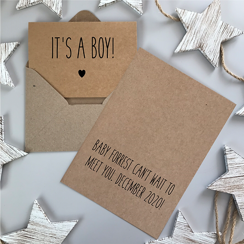 IT'S A BOY! - KRAFT