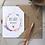 Thumbnail: Bee Safe Boho Card - Seeded