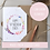 Thumbnail: Personalised Boho 50th Happy Birthday Card - Seeded Card