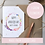 Thumbnail: Happy Anniversary Card Boho Personalised - Seeded
