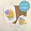 Thumbnail: Multi Watercolour Splash Card & Tag Set
