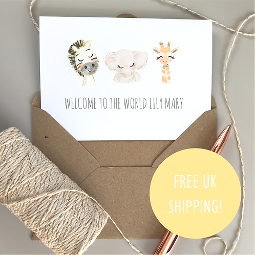 Welcome to the World - Baby Animal