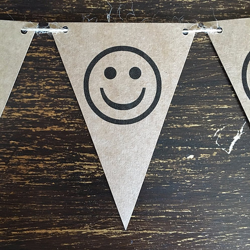 Bunting, Smiley, Kraft