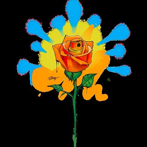 Orange Rose TShirt