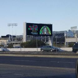 Oracle Arena Digital Billboard