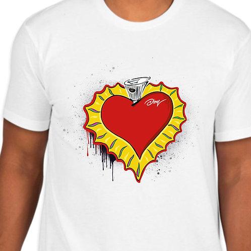 Sacred Heart Ny fat cap TShirt