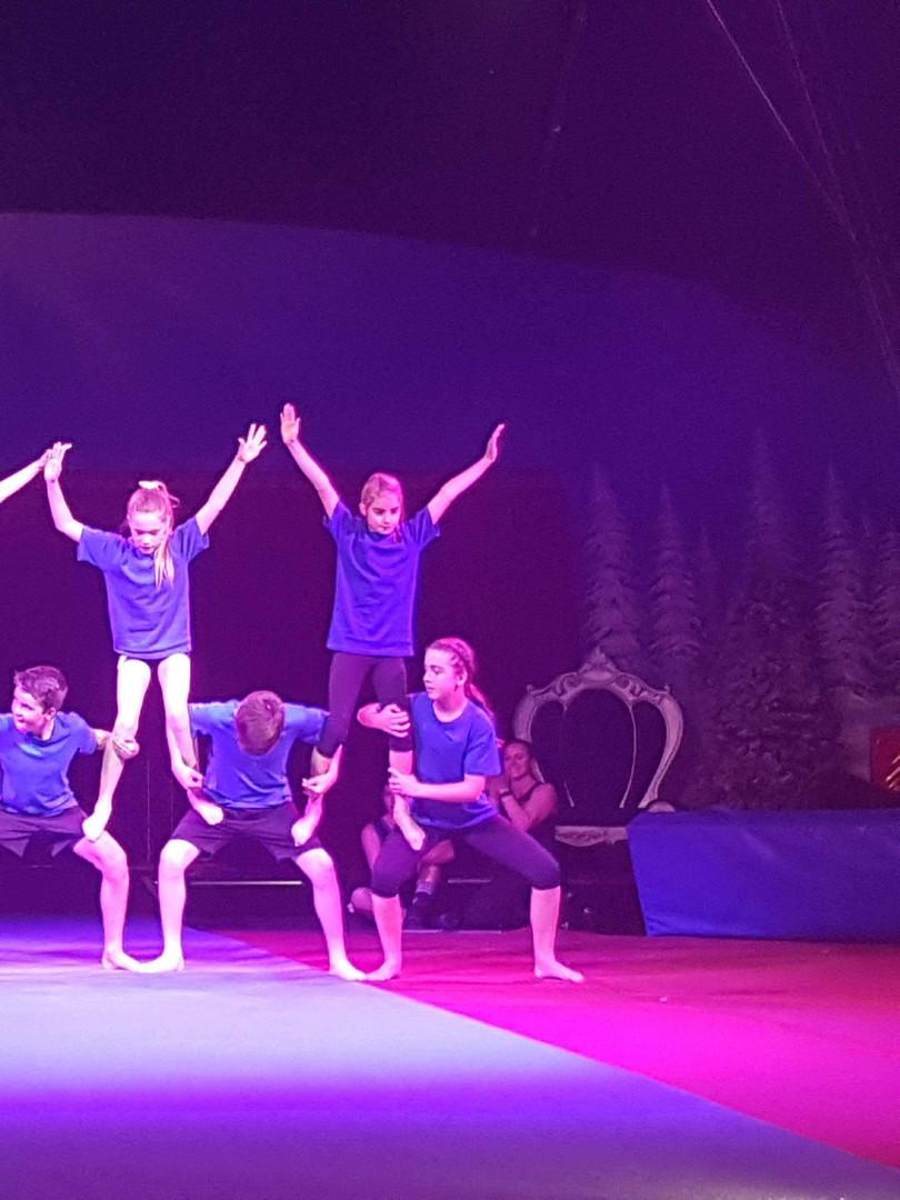 Blue Intermediate Acrobats
