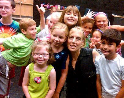 Lane Gifford and Kids