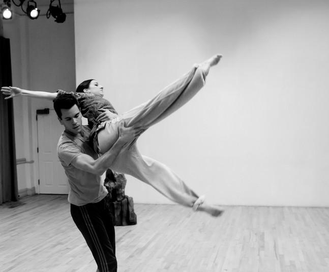LaneCoArts   Dancers: Julien Frei, Grace Whitworth