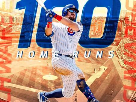 Kyle Schwarber hits #100!