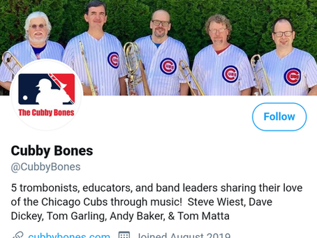 Follow Cubby Bones on Social Media!