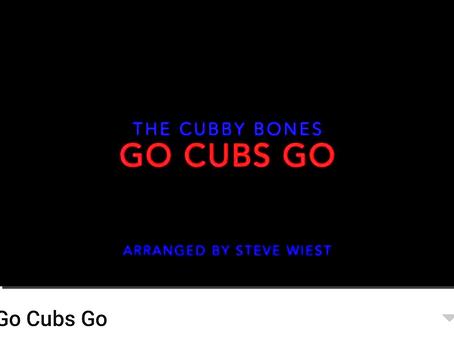 Go Cubs Go arrangement by the Cubby Bones