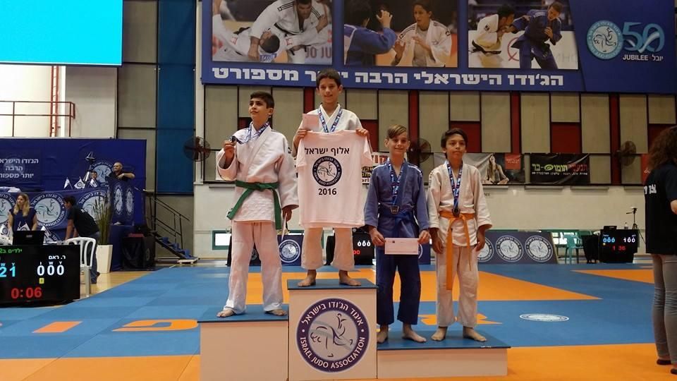 ים וולצ'ק מקום ראשון אליפות ישראל 2016