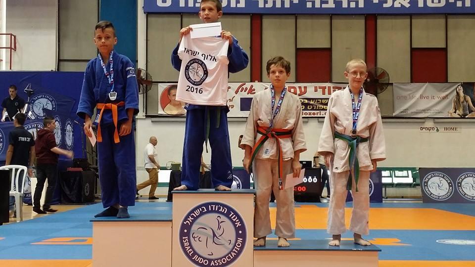 יונתן דוחובני מקום שלישי אליפות ישראל 2016