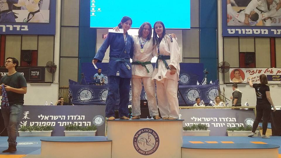 אלה ברנשטיין מקום ראשון אליפות ישראל
