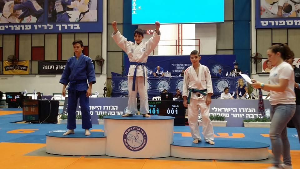 סוף חזן מקום שני אליפות ישראל 2016