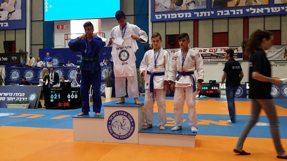 אופק וויסמן מקום שלישי אליפות ישראל 2016