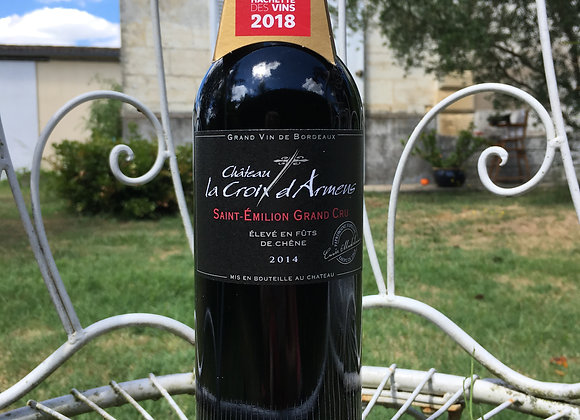 Château La Croix d'Armens, Cuvée Madeleine, Saint-Emilion Grand Cru 2014
