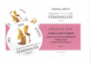 DIPLOME MEDAILLE OR CASTILLON 2014130420