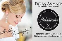Mobiles Harwerk Brautstyling