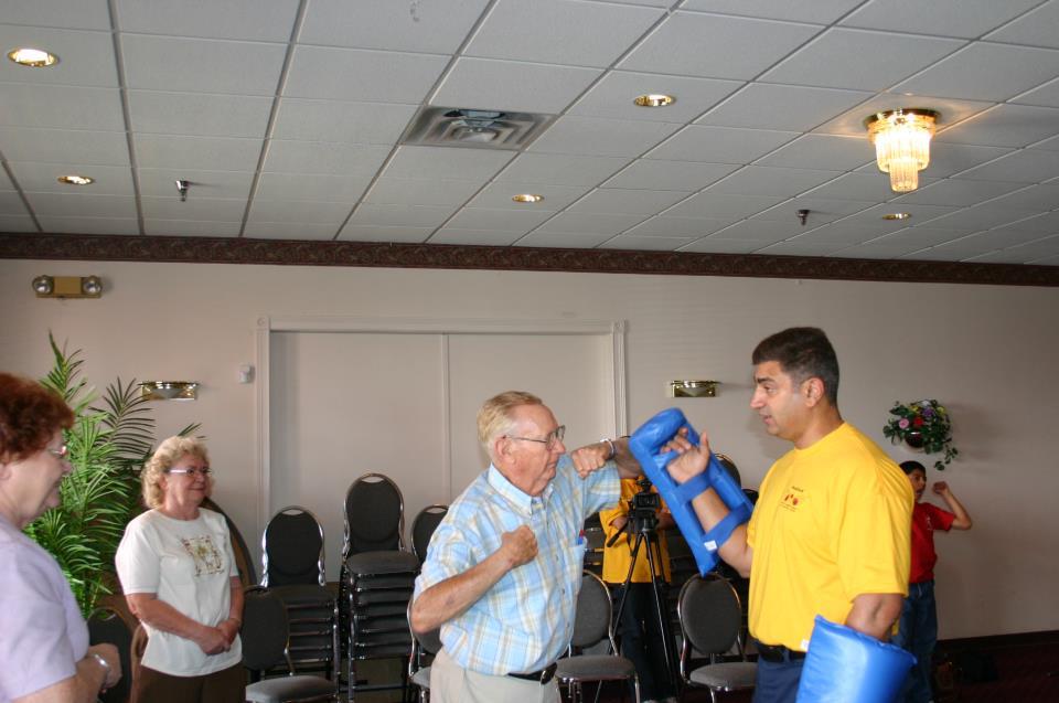 Seniors training