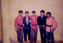 India - Pak Kickboxing team fighters